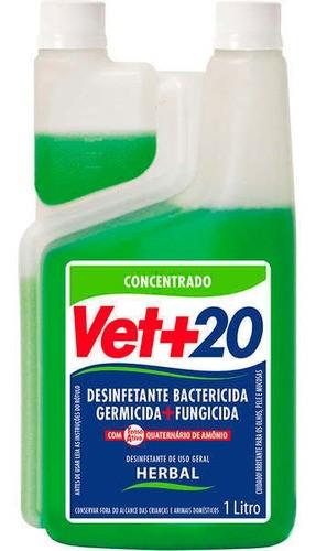 Desinfetante Bactericida Concentrado 1 Litro - Herbal
