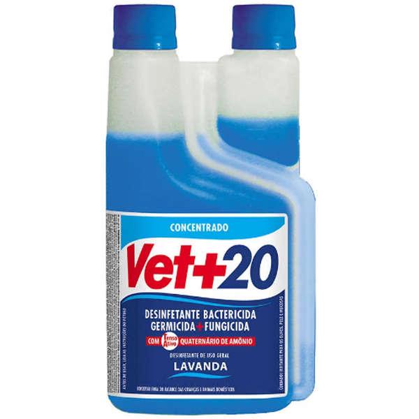 Desinfetante Bactericida Concentrado 1 Litro - Lavanda