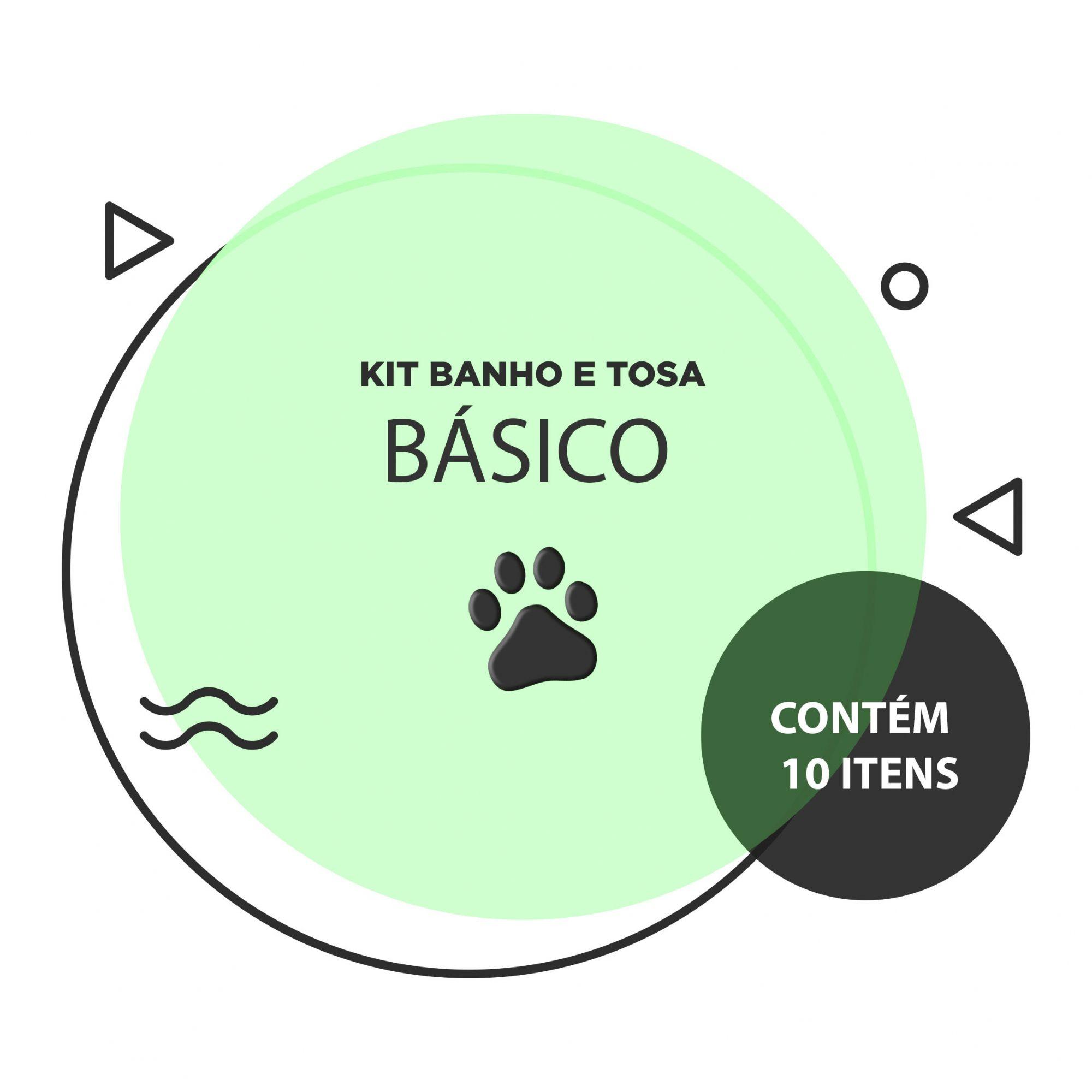 Kit Banho e Tosa - Básico