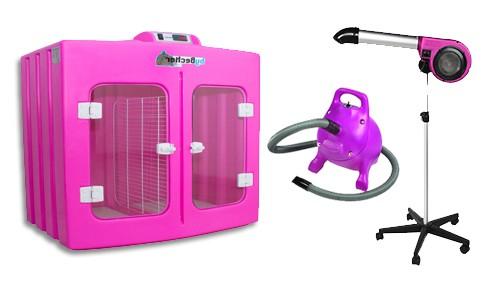 Kit - Máquina de Secar By Becker + Secador Kyklon + Soprador Kyklon Rex