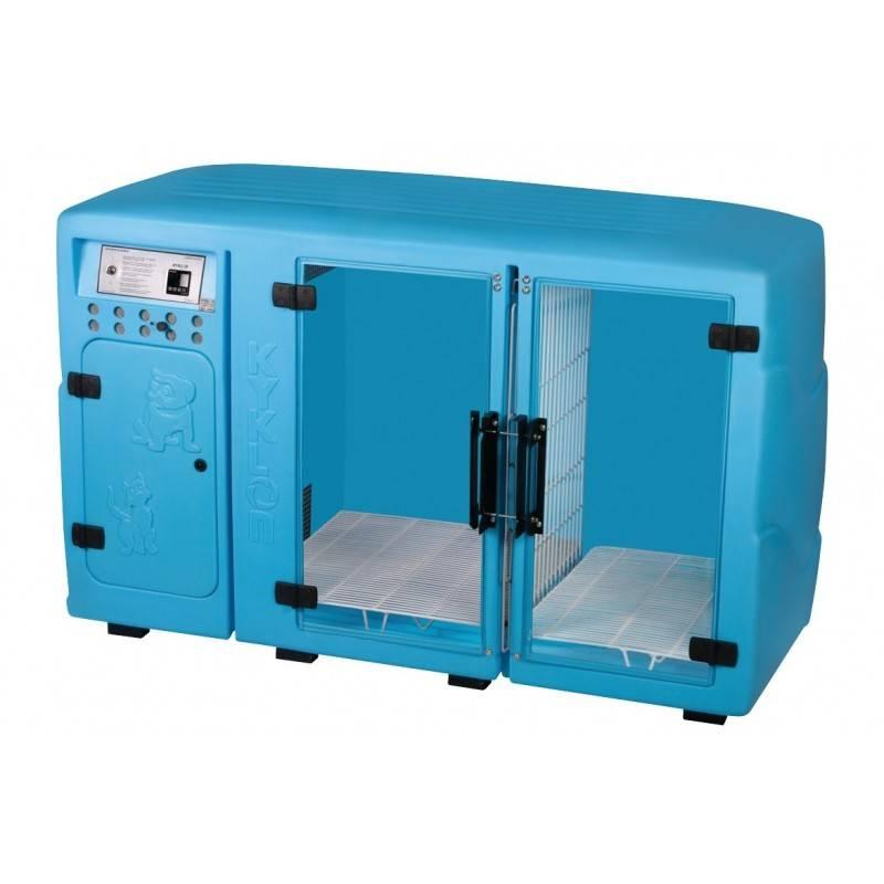 Máquina de Secar Azul Claro