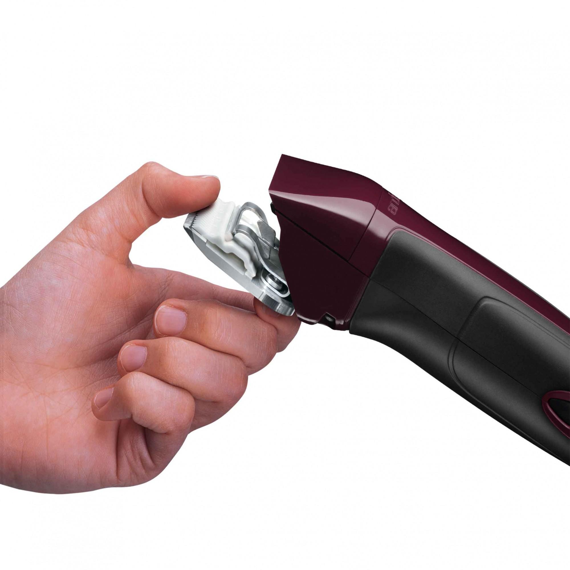 Maquina de Tosa Andis Excel Vinho 5vel Bivolt