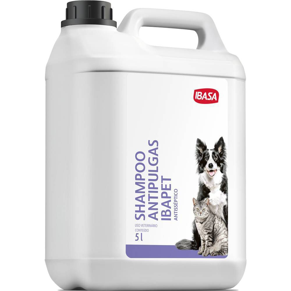 Shampoo  Antipulgas Ibasa 05 Lt