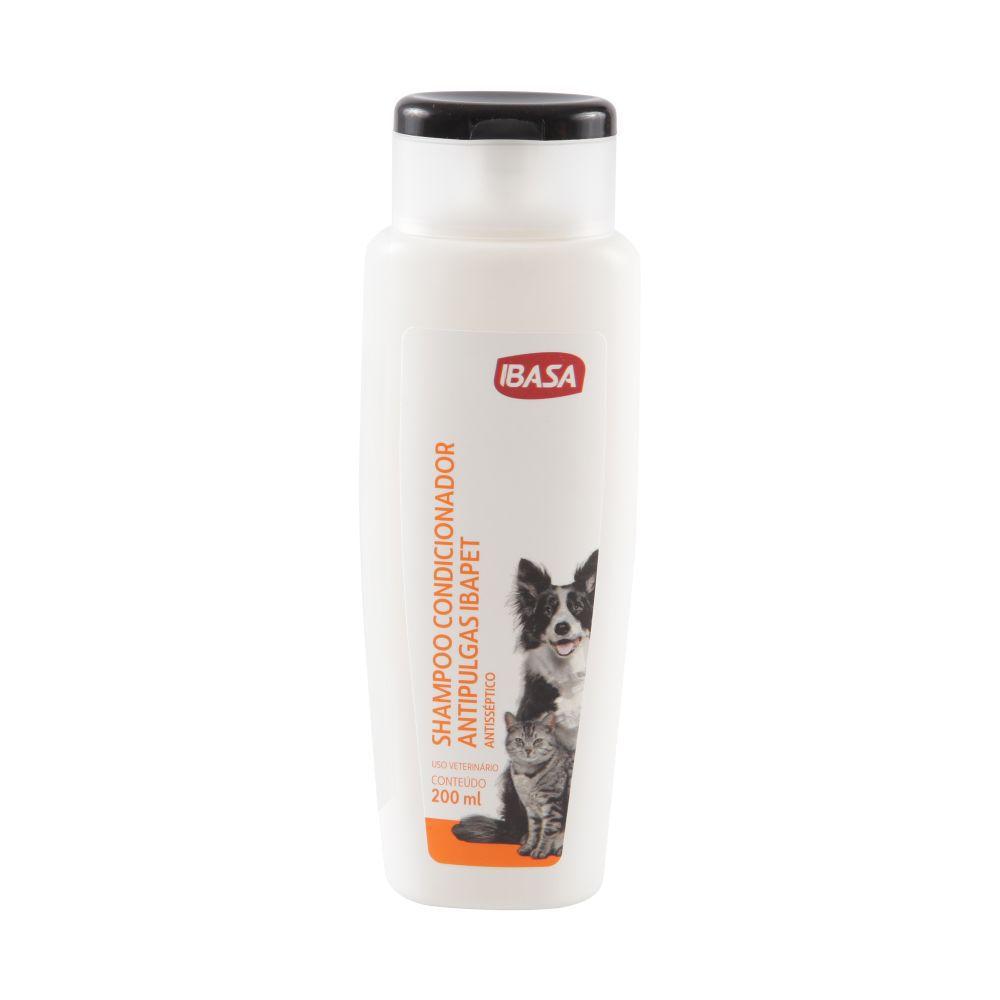 Shampoo Condicionador  Antipulgas Ibasa 200ml