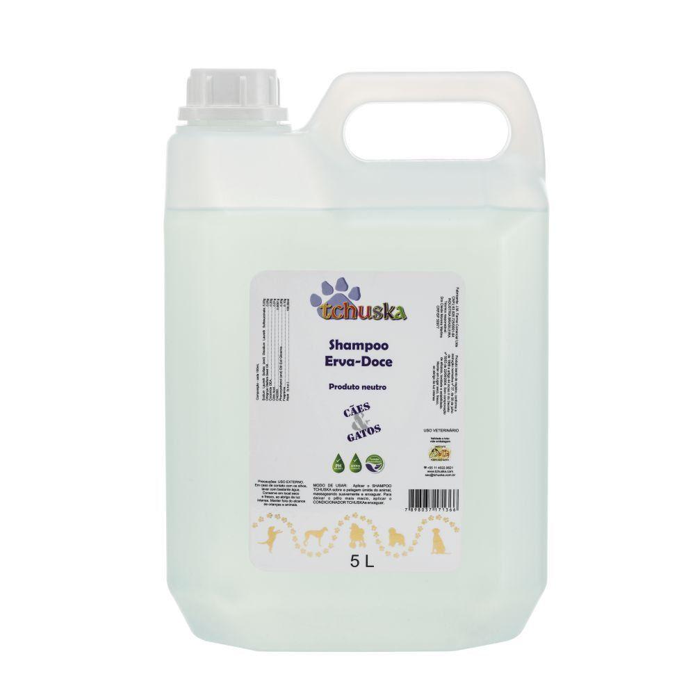 Shampoo Erva-Doce Tchuska 5 Lts