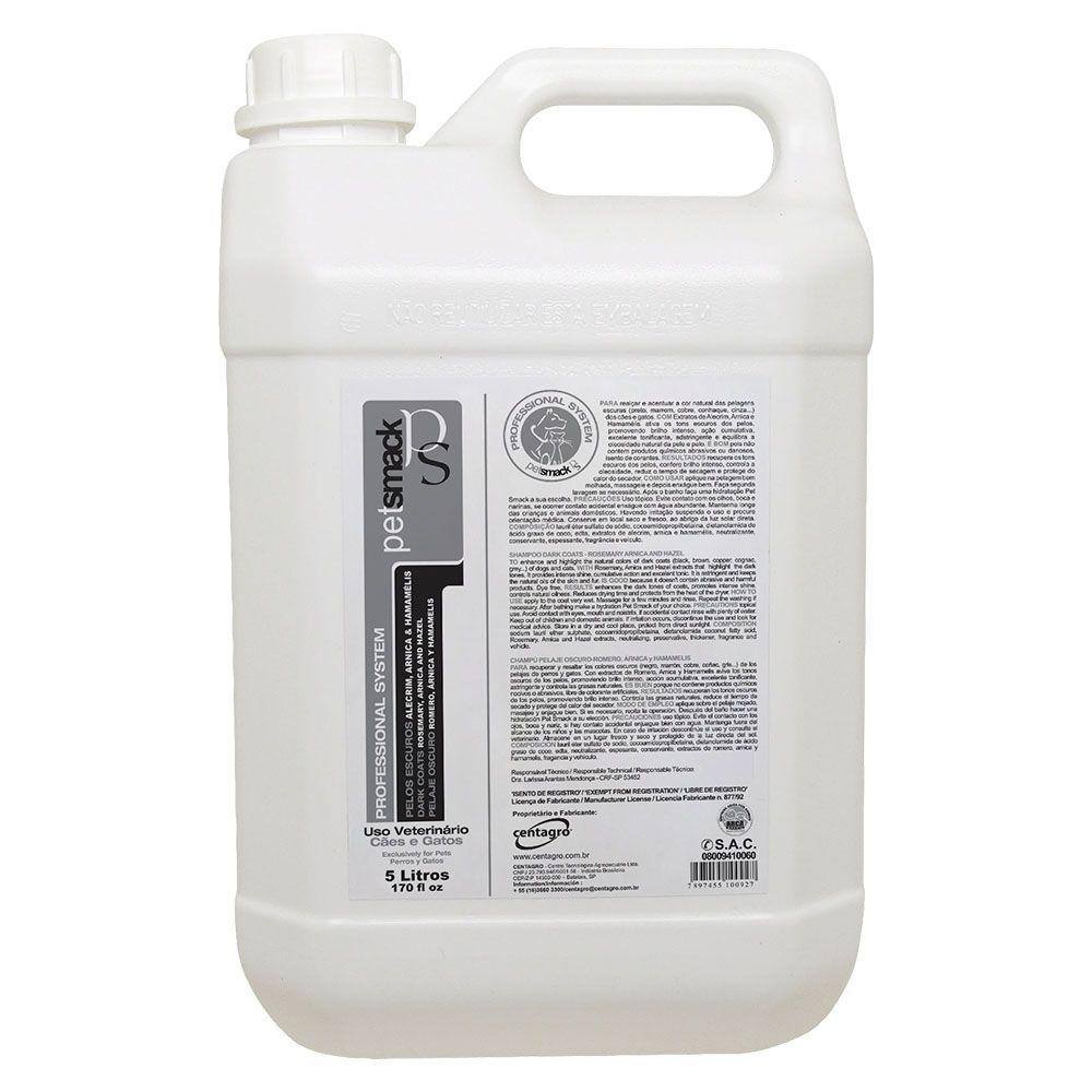 Shampoo Escuros 5LTS Petsmack
