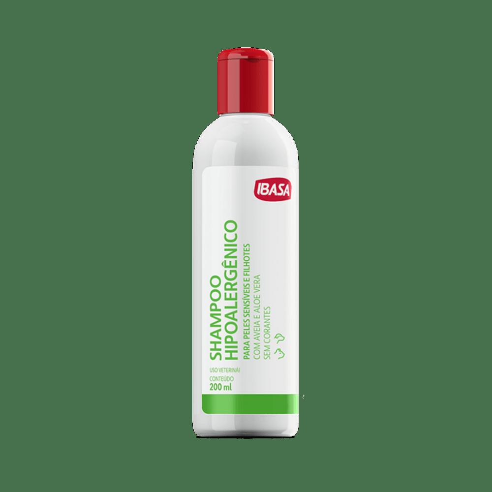Shampoo Hipoalergênico Ibasa 200ml