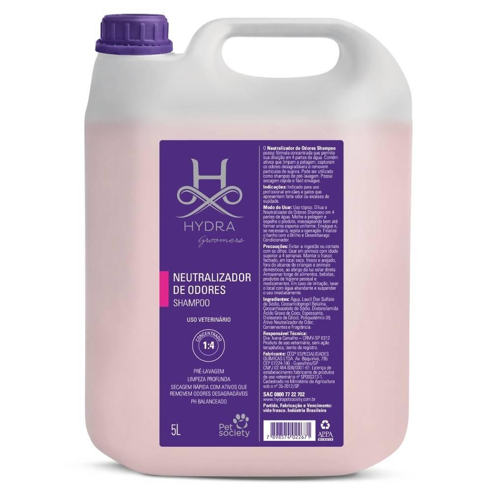 Shampoo Hydra Neutralizador de Odores Pet Society 5 Lts (1:4)