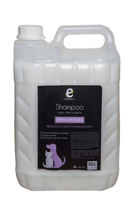 Shampoo Pet Limpeza Profunda 5Lts