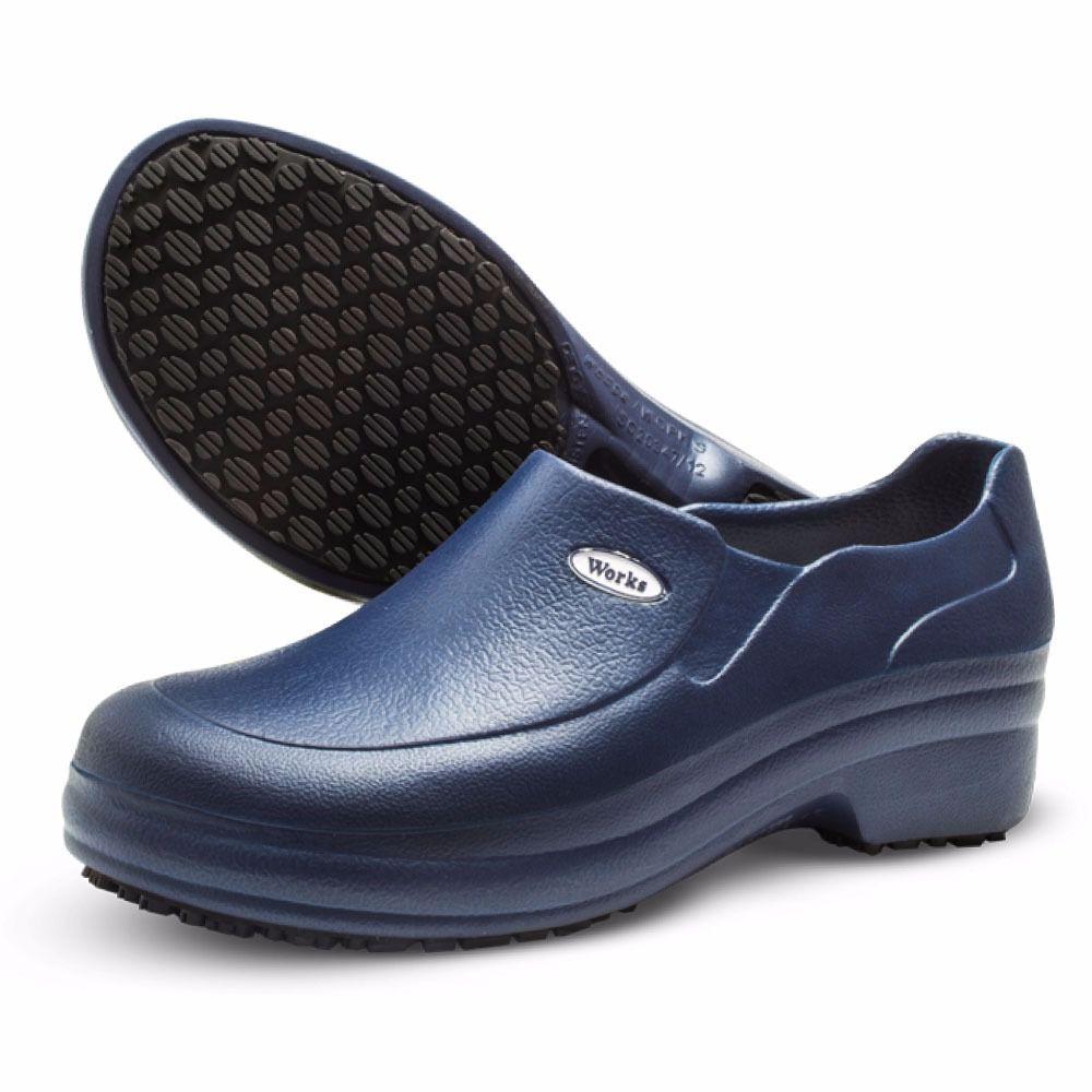 Sapato Antiderrapante 35 Preto