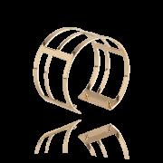 Pulseira Bracelete Geométrica Dourada