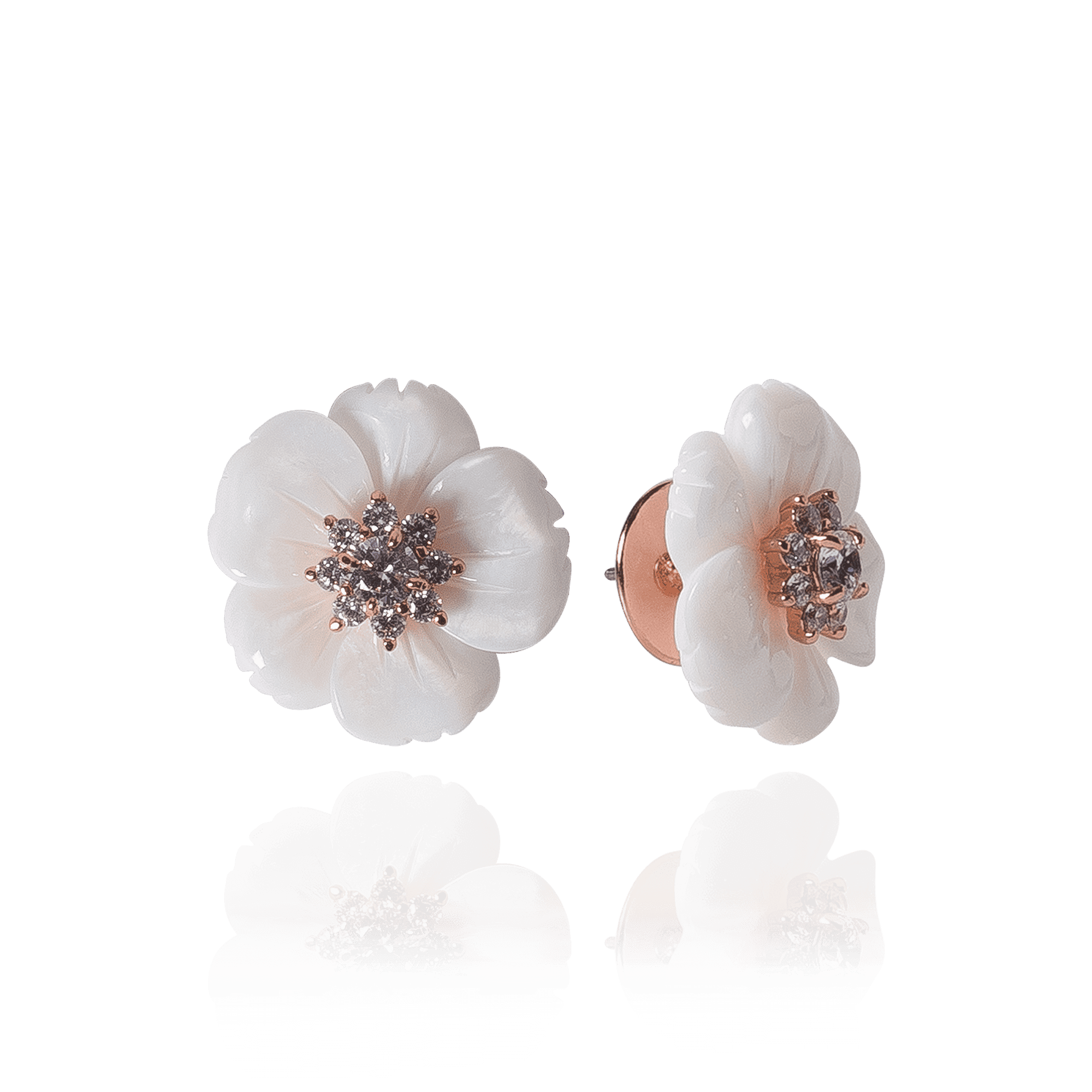 Brinco Flower Esmaltado