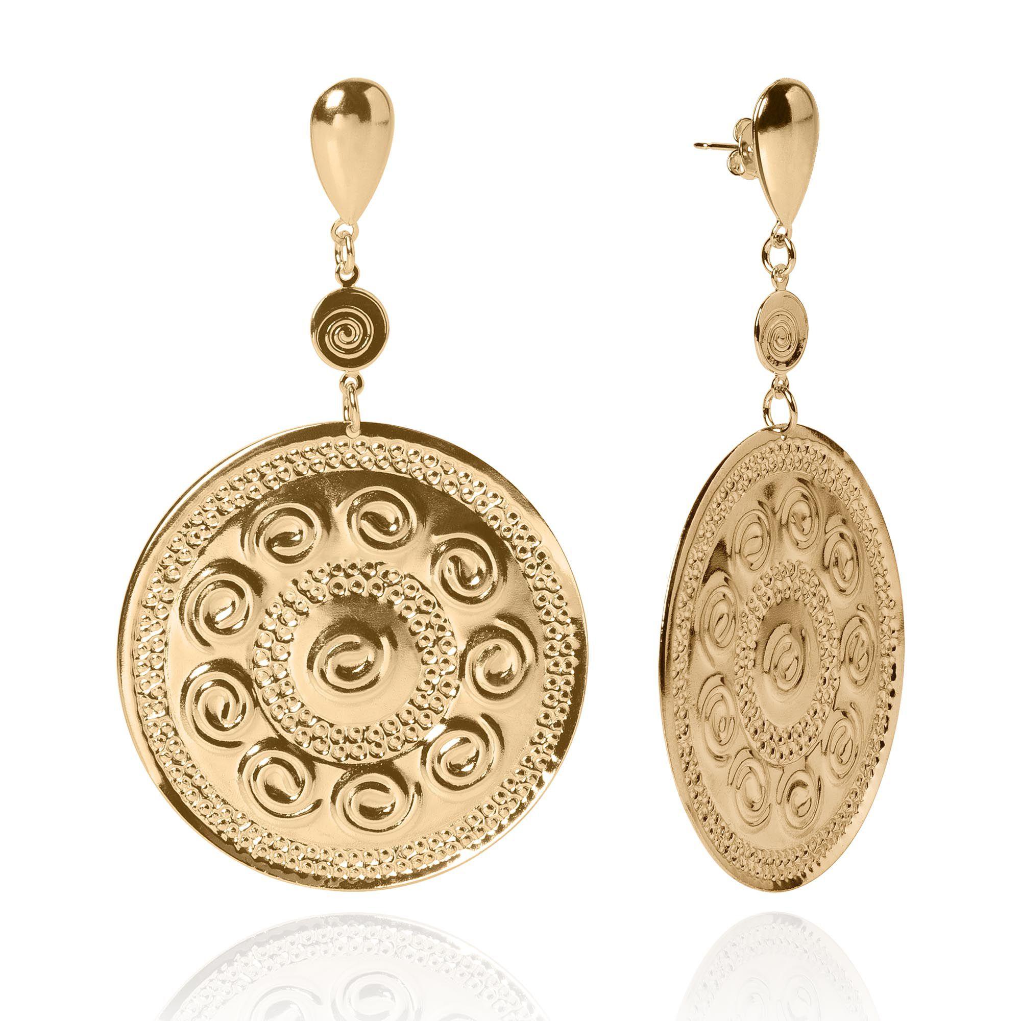 Brinco Medalha Inspiração Versace