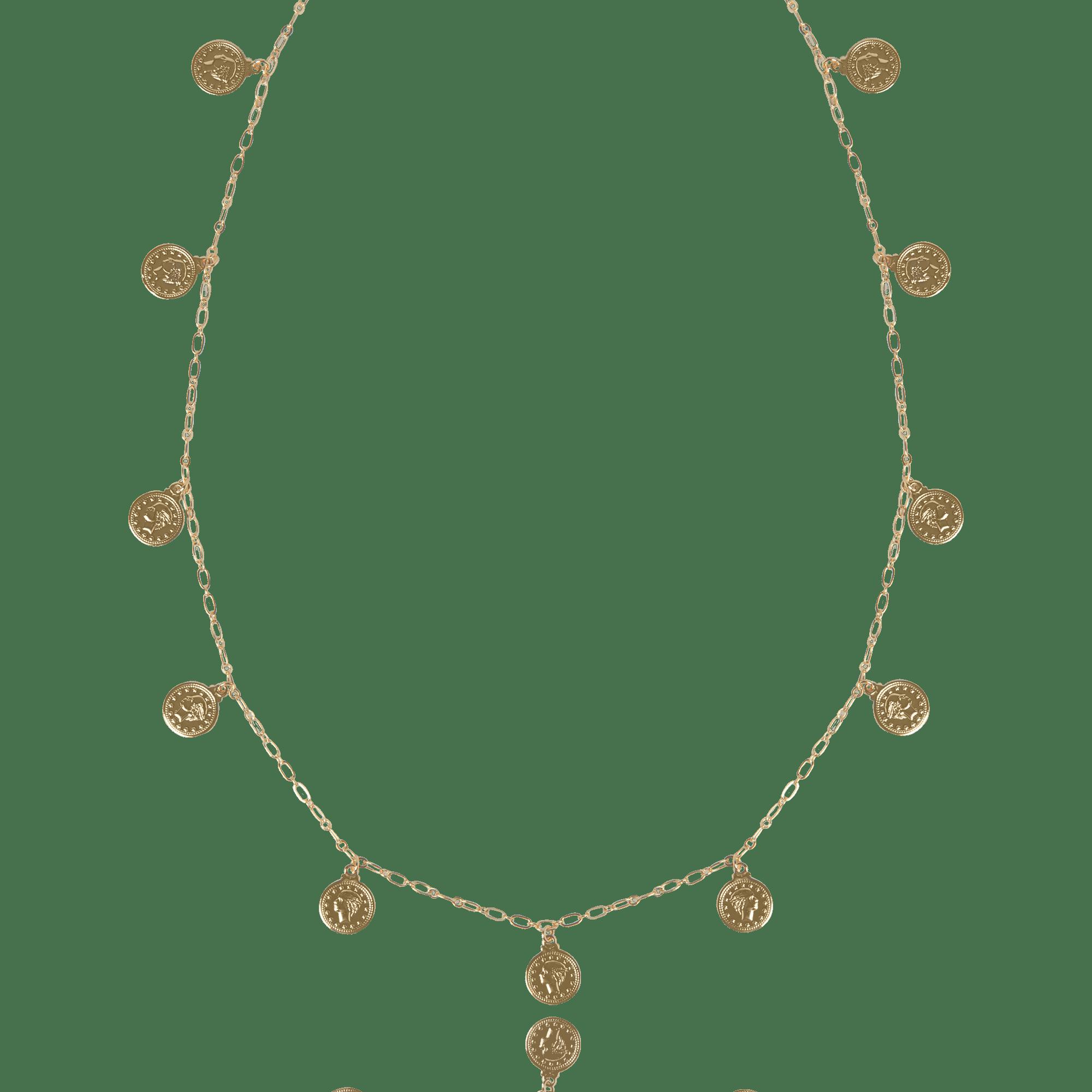 Colar Inspiração Versace Medalhas Pequenas