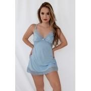 Camisola Fernanda azul bebê