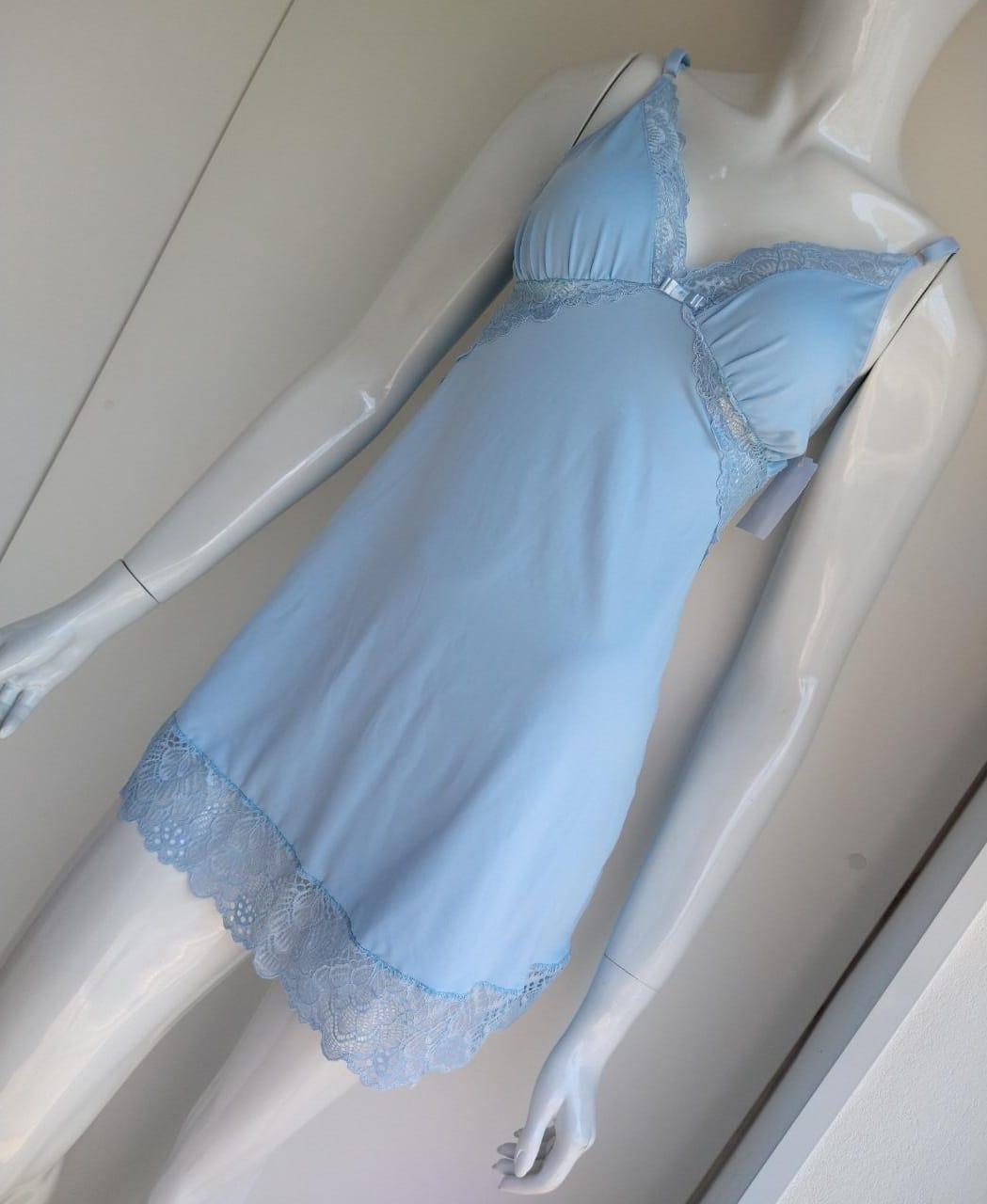 Camisola Fernanda azul bebe