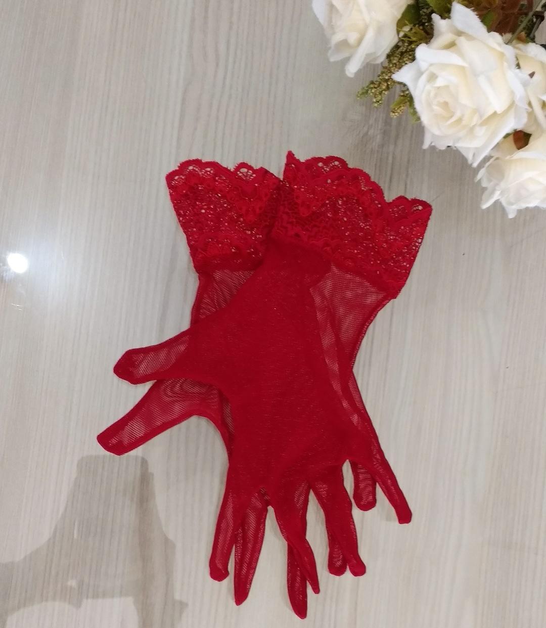 Kit - Corsele Coração Vermelho com acessórios