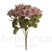 Buque Rosa Diamante Marrom Hs020Mr