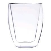 Copo p/ cha parede dupla vidro borosilicato 260Ml 6297 Lyor