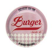 Prato Raso 26Cm Burger Pink J609 6781