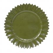 Sousplat Sunflower Verde - Mimo Style