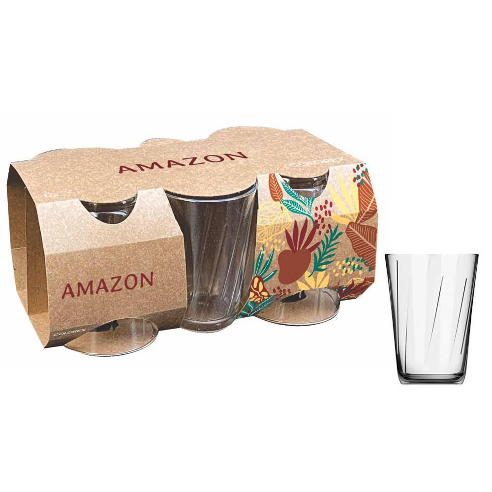 Copo 190mL Amazon com 6 peças Colorex -Marilar