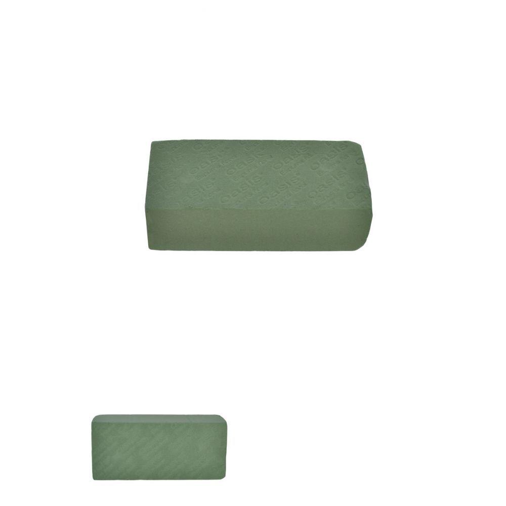 Esponja Floral Tijolo Verde 23X7X10Cm 52711