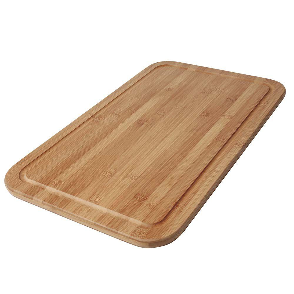 Tabua Para Corte Bamboo 50Cmx30Cm Mor