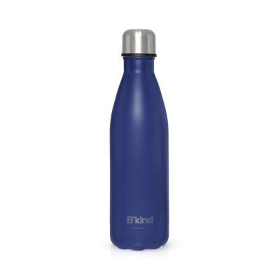 Garrafa Térmica B'Kind Azul Cobalto Personalizada