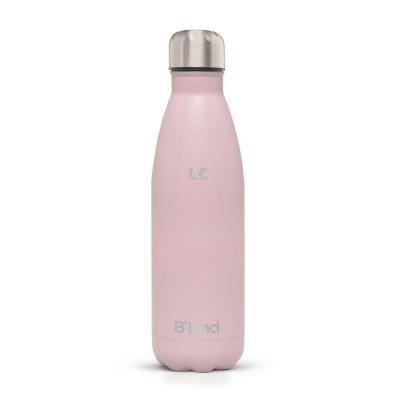 Garrafa Térmica B'Kind Rosa Areia Personalizada