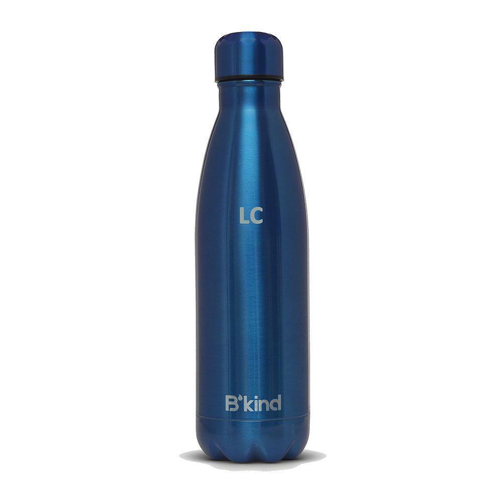 Garrafa Térmica B'kind All Blue Personalizada