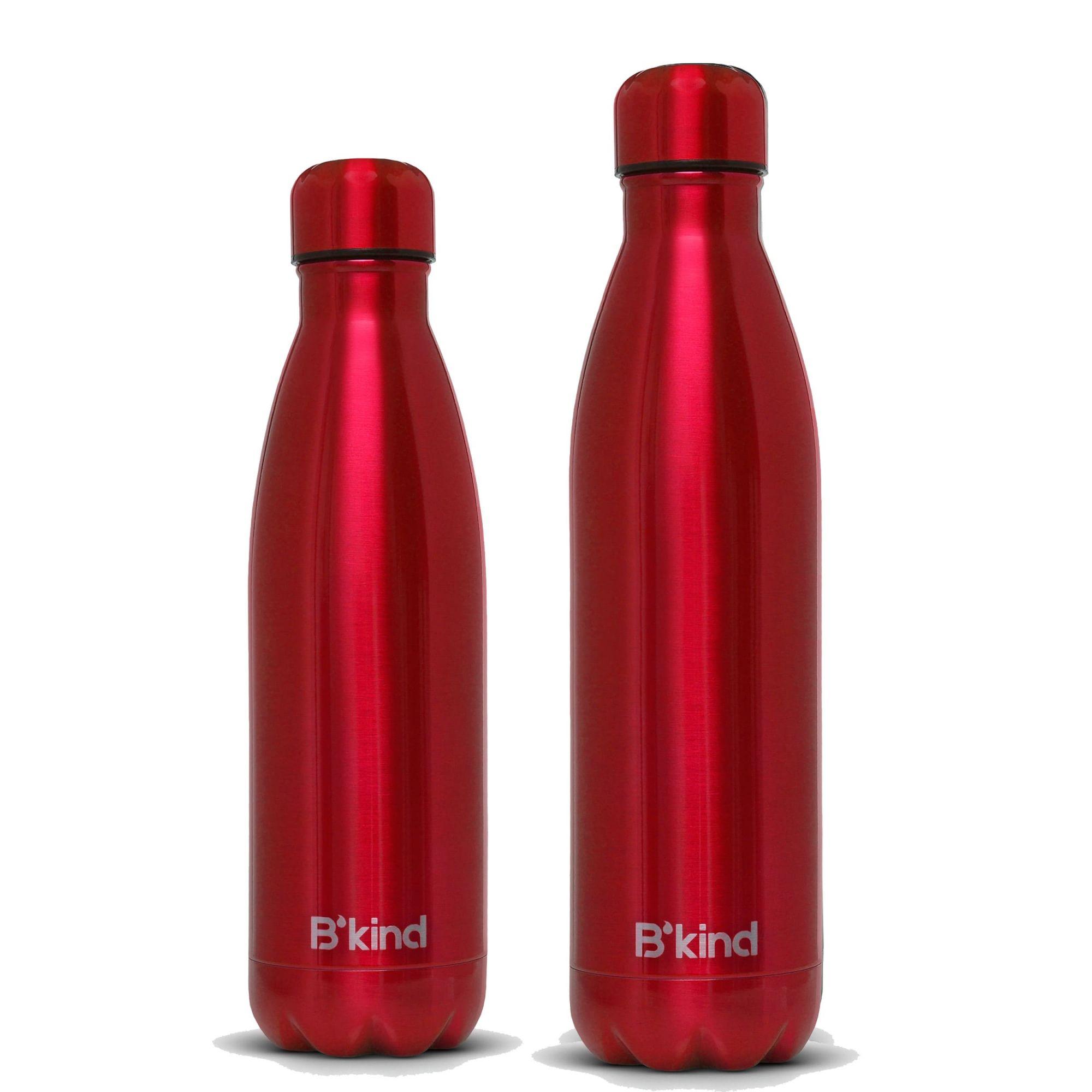 Garrafa Térmica B'kind All Red 500ml + 750ml