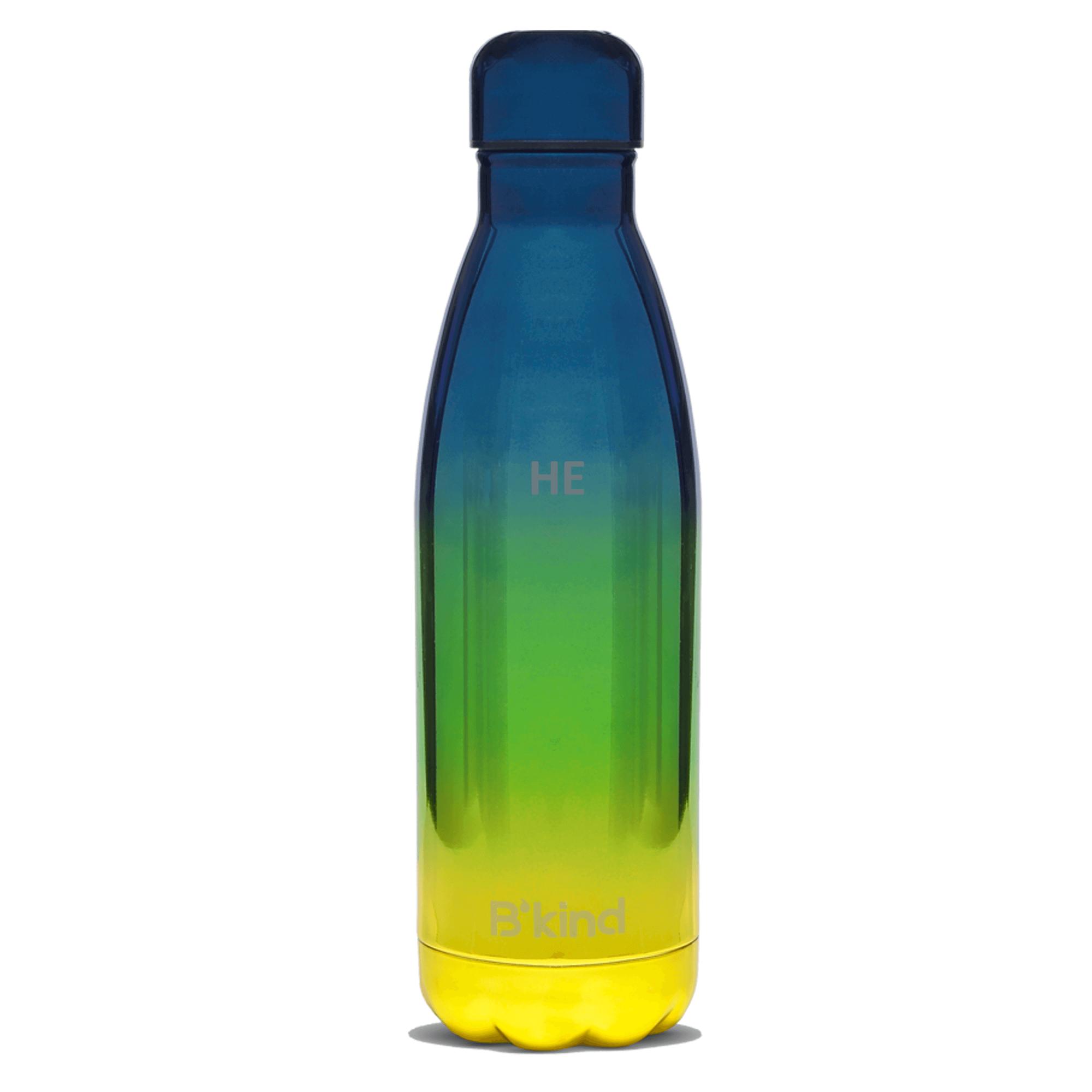 Garrafa Térmica B'kind Azul Fantastic Personalizada