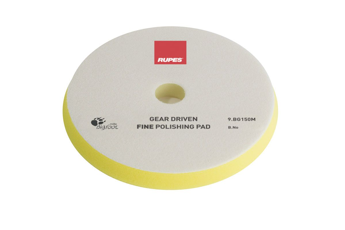 Boina de espuma amarela Gear Driven Rupes - LUSTRO 5