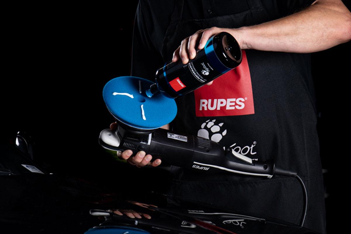 Composto Polidor Rupes D-A COARSE Azul CORTE - 1L   - Rupes Brasil