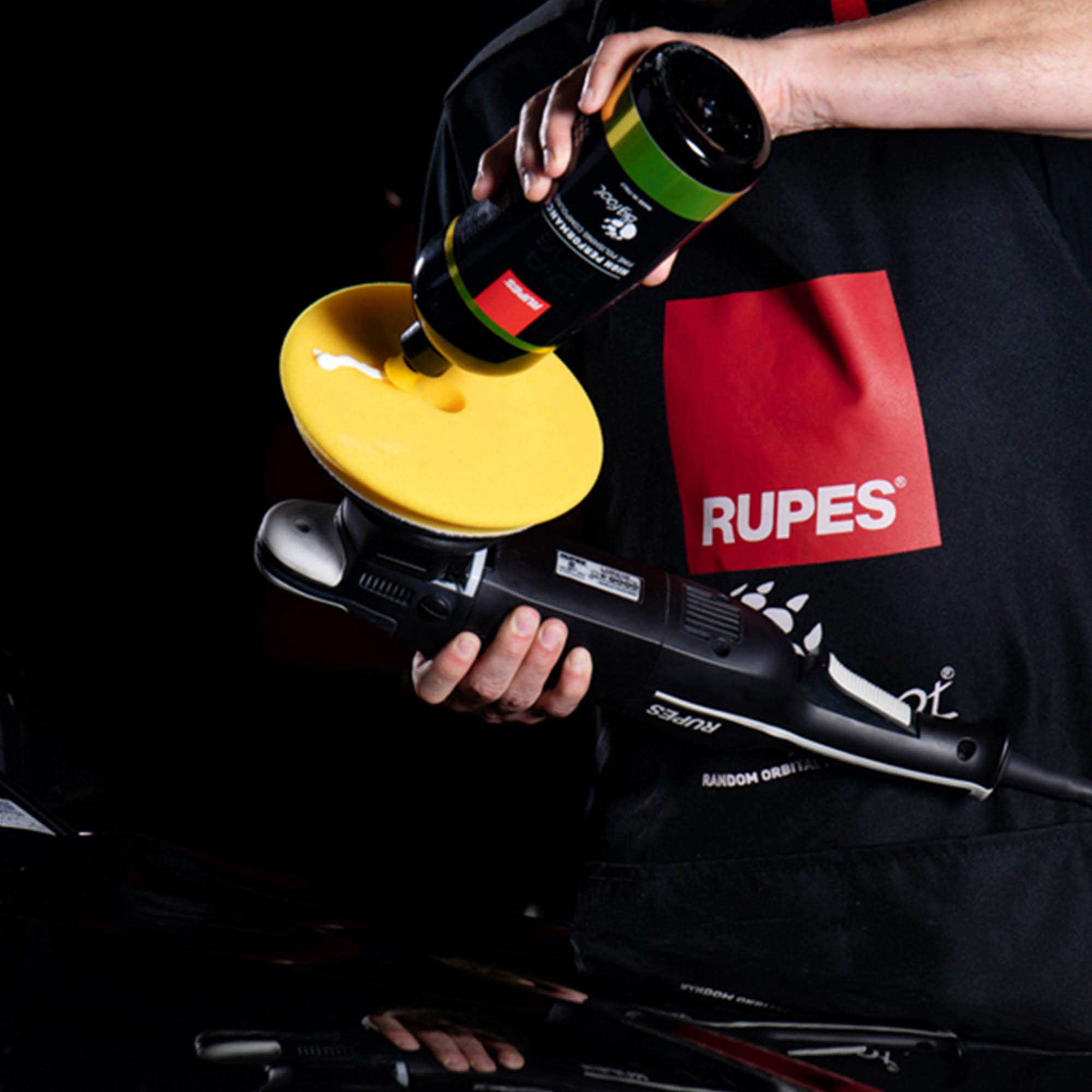 Composto Polidor Rupes D-A FINE Amarelo LUSTRO -  1L  - Rupes Brasil