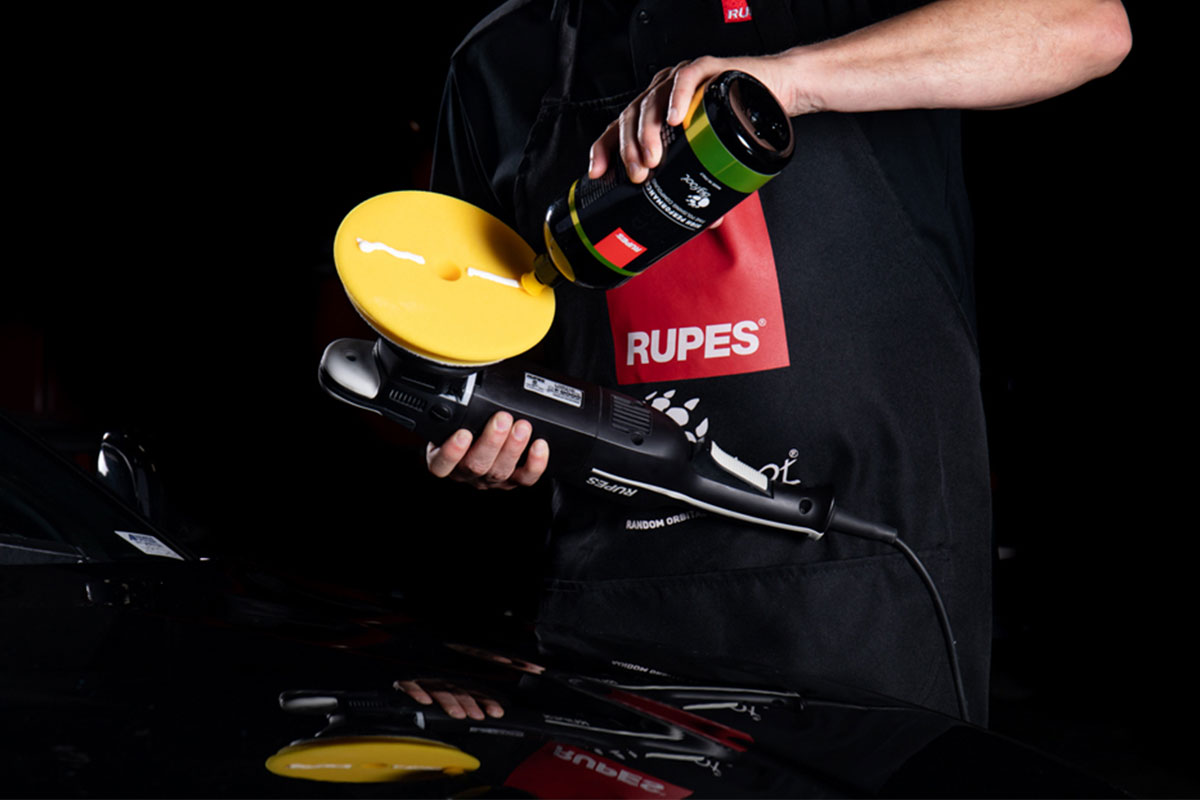 Composto Polidor Rupes D-A FINE Amarelo LUSTRO - 250ml  - Rupes Brasil