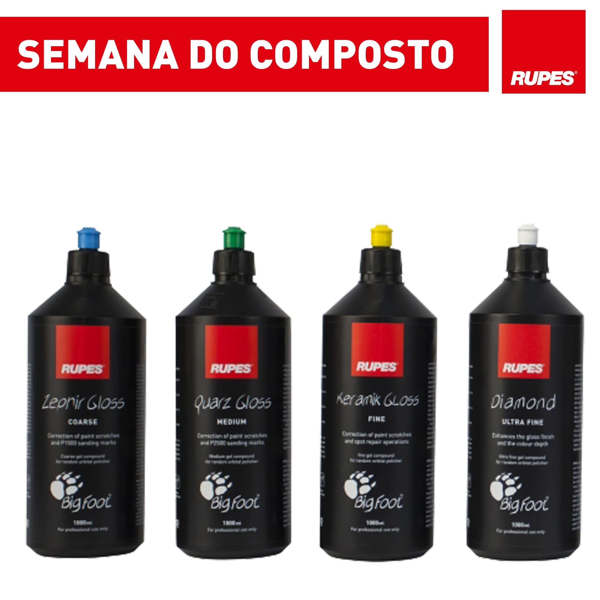 KIT com 4 Compostos Rupes - Promoção Semana do Composto  - Rupes Brasil