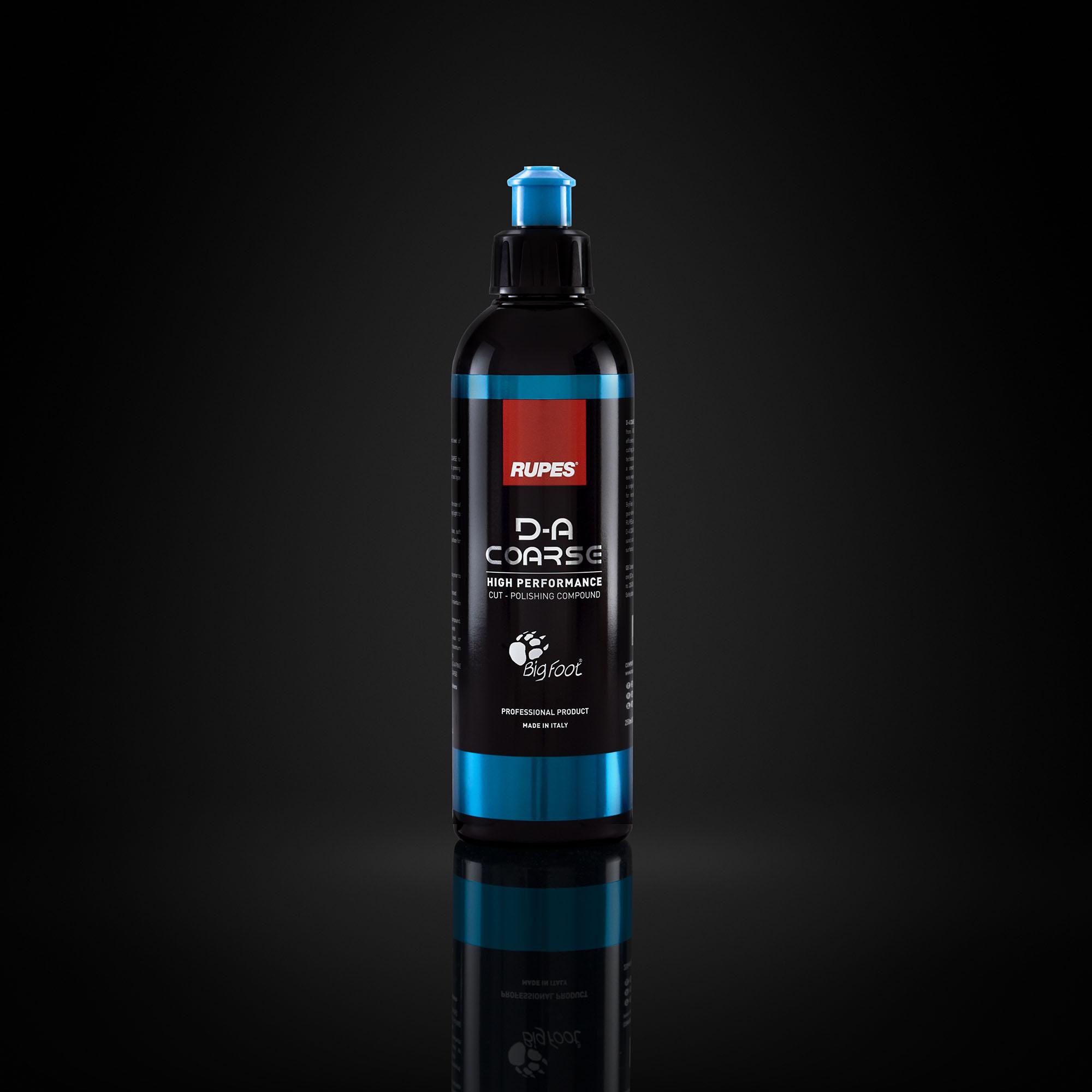 Kit D-A + Uno Protect - 250 ML - Composto polidor de corte(D-A Coarse), lustro(D-A FINE) e 3 em 1(Uno Protect)  - Rupes Brasil