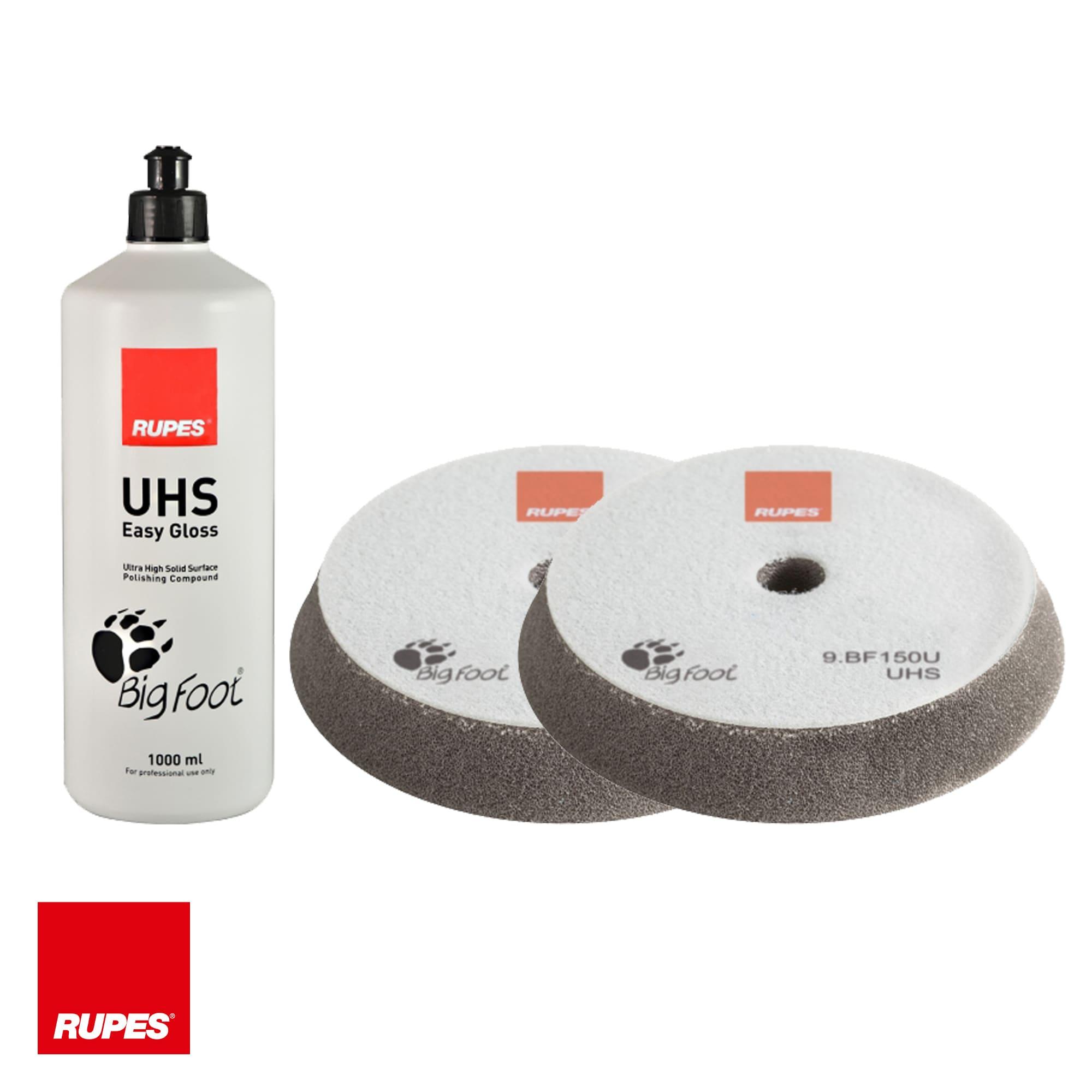 "Kit de composto polidor UHS 5"" - Rupes  - Rupes Brasil"
