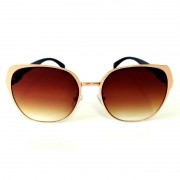 Óculos de Sol Cayo Blanco Feminino Lente Marrom