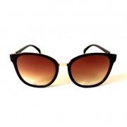 Óculos de Sol Cayo Blanco Feminino Marrom