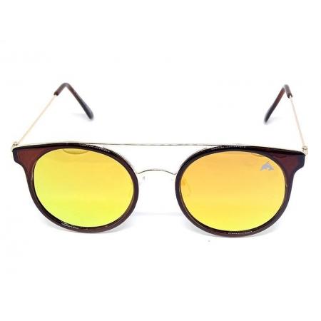 Óculos de Sol Redondo Espelhado Cayo Blanco