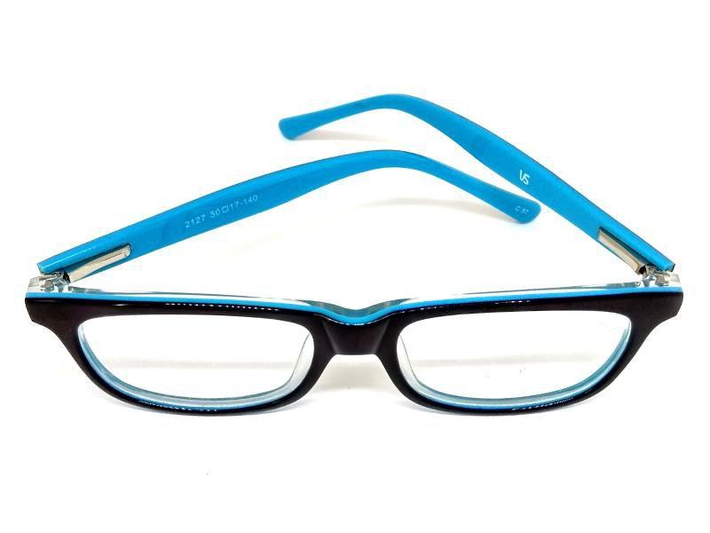 Óculos De Grau Cayo Blanco Preto e Azul  - Cayo Blanco