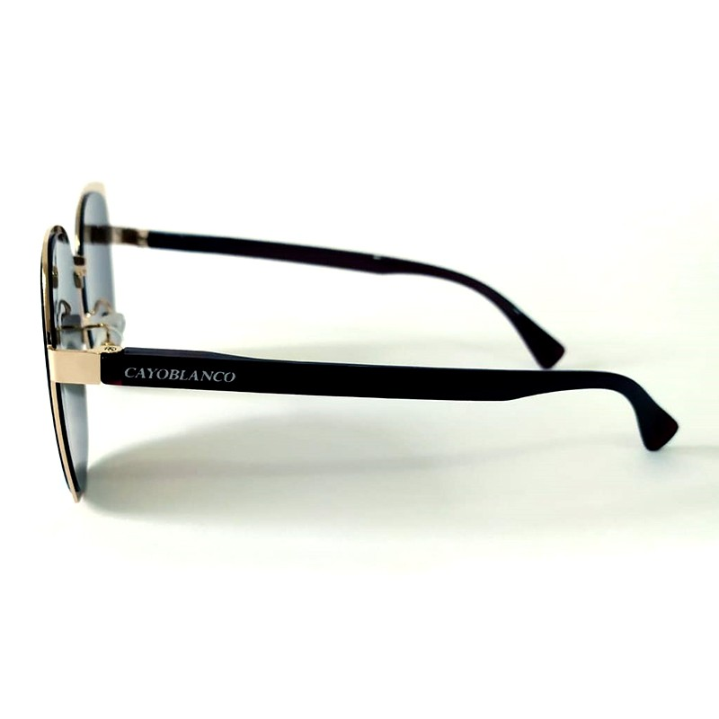 Óculos de Sol Cayo Blanco Feminino Lente Azul  - Cayo Blanco