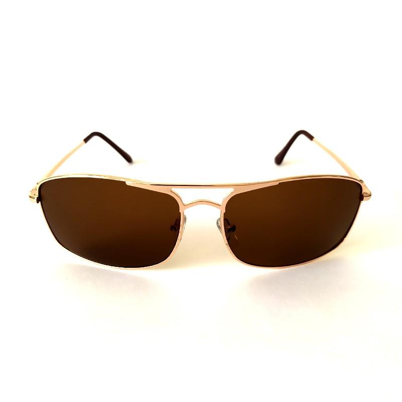 Óculos de Sol Cayo Blanco Feminino Dourado Lente Marrom  - Cayo Blanco