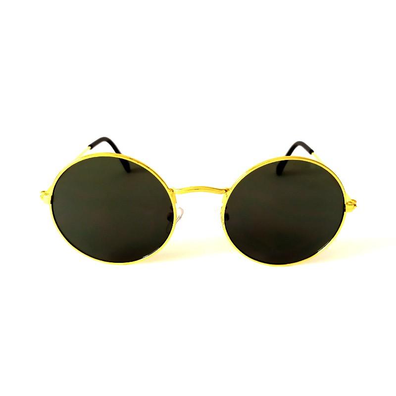 Óculos de Sol Cayo Blanco Feminino Dourado Lente Verde  - Cayo Blanco
