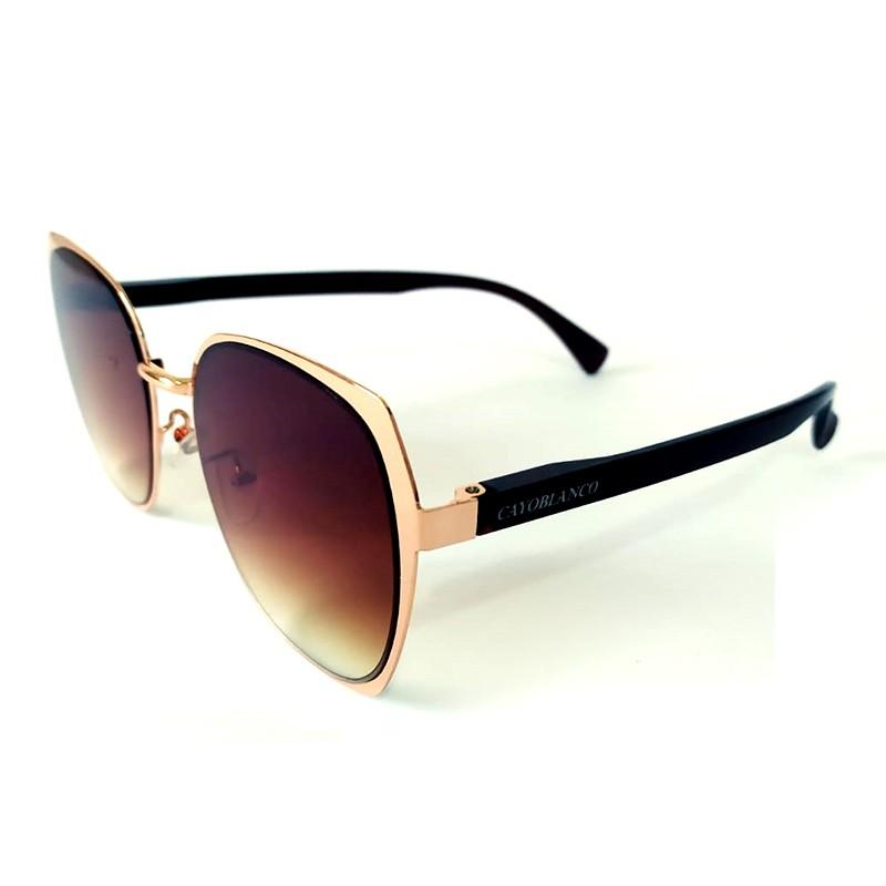 Óculos de Sol Cayo Blanco Feminino Lente Marrom  - Cayo Blanco