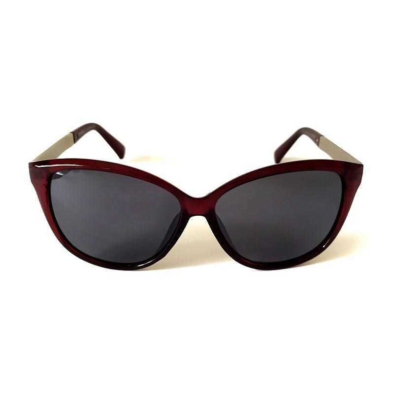 Óculos de Sol Cayo Blanco Feminino Marrom Lente Verde