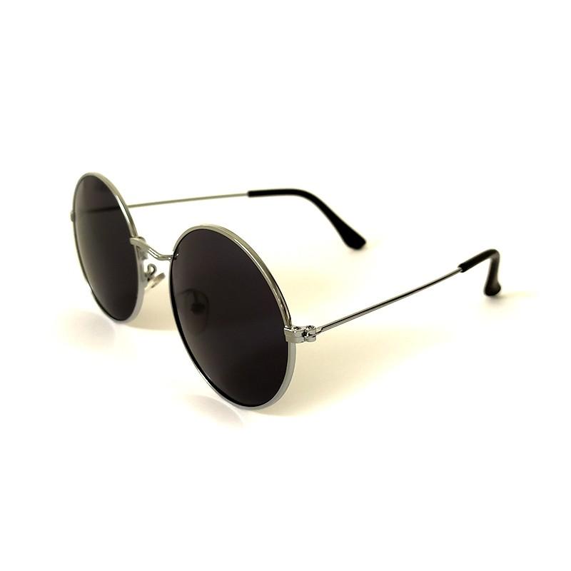 Óculos de Sol Cayo Blanco Feminino Prata Lente Preto  - Cayo Blanco